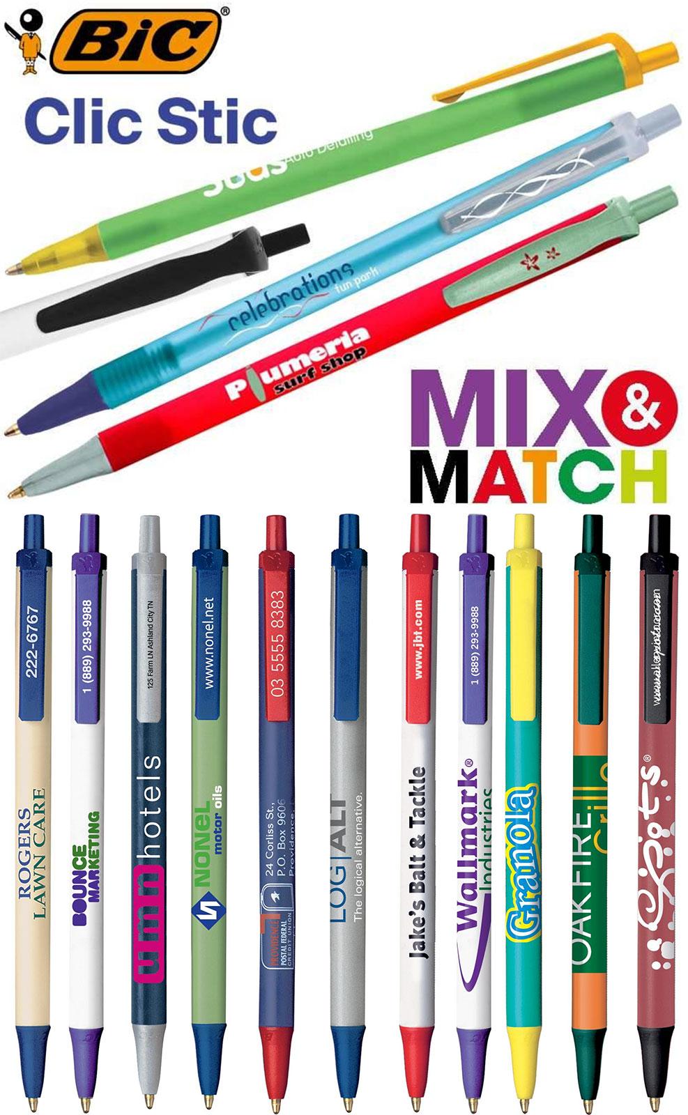 Εκτύπωση BIC στυλό - Διαφημιστικό στυλό εκτύπωση